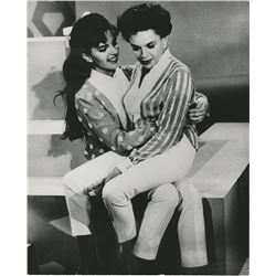 Liza Minnelli (3) teenage photographs performing with Judy Garland.