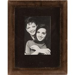 Liza Minnelli personal nightstand snapshot photograph with her mother.