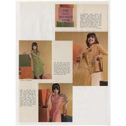 Liza Minnelli personal career-long press clippings archive in (3) binders.