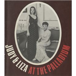 Liza Minnelli (5) early stage programs including Judy and Liza at the Palladium.