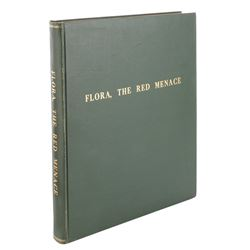 Liza Minnelli personal book bound score from the Kander and Ebb stage musical Flora, the Red Menace.