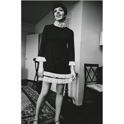 Liza Minnelli (4) oversize custom photographs from New York in the 1960s.
