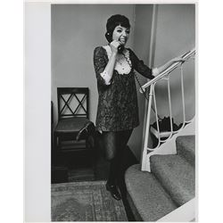 Liza Minnelli (5) oversize custom photographs from New York in the 1960s.