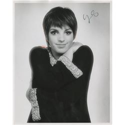 Liza Minnelli (21) photographs, (7) contact sheets, (15) negatives attributed to Francesco Scavullo.