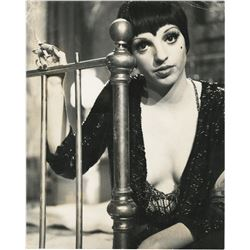 Liza Minnelli (15+) color and black and white production photographs from Cabaret.
