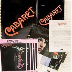 Liza Minnelli collection of publicity materials and ephemera for Cabaret.