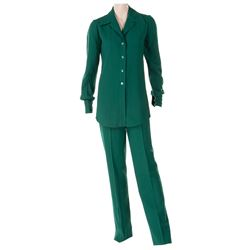 Liza Minnelli green ensemble by Halston.