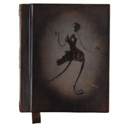 Liza Minnelli stage script for Funny Face in a custom Liza logo leather binder.