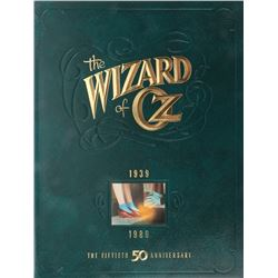 Liza Minnelli 50th Anniversary press kit and video release poster for Wizard of Oz.