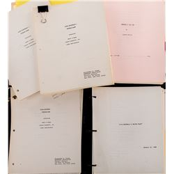 Liza Minnelli working script archive for Sam Found Out: A Triple Play.