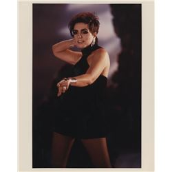 Liza Minnelli (20+) photos & (150+) color transparencies from the 'Don't Drop Bombs' video shoot.