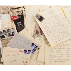 Liza Minnelli (75+) pieces of correspondence from her stepmother, Lee Minnelli.