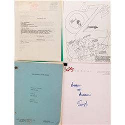 Liza Minnelli (3) scripts from actual and proposed stage and screen projects.