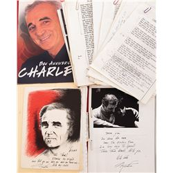 Liza Minnelli archive of Charles Aznavour material.