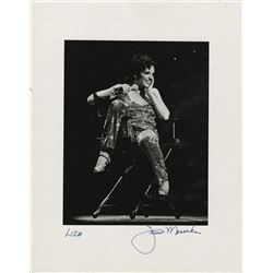 Liza Minnelli (12) oversize performance photographs.