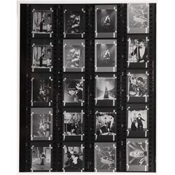 Liza Minnelli oversize contact sheet from Cabaret.