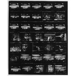 Liza Minnelli and Sammy Davis Jr. (20+) oversize contact sheets.