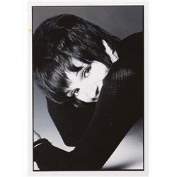 Liza Minnelli oversize portrait photograph by Bill King.