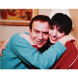 Liza Minnelli and Fred Ebb oversize color portrait.