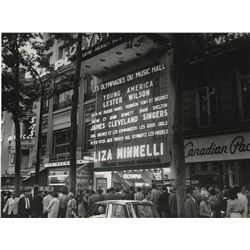 Liza Minnelli (550+) unfiled photographs, transparencies, and ephemera from her entire career.