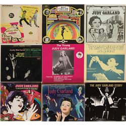 Liza Minnelli personal collection of (100+) record albums.