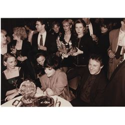 Liza Minnelli (50+) press photographs from her 45th birthday party.