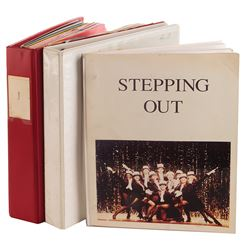 Liza Minnelli working script archive for Stepping Out.