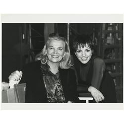 Liza Minnelli (60+) behind the scenes photographs and cast party snapshots from Stepping Out.