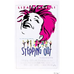 Liza Minnelli archive of (6) poster concept materials for Stepping Out.