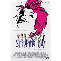 Liza Minnelli (6) 1-sheet posters for Stepping Out.