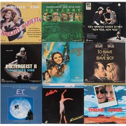 Liza Minnelli personal collection of (50+) laser discs.