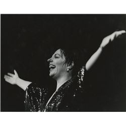 Liza Minnelli (6) oversize performance photographs from The Act.
