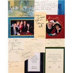Liza Minnelli collection of (100+) greeting cards from celebrities.