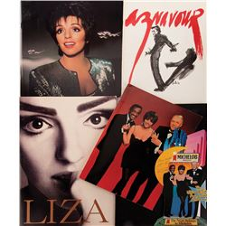 Liza Minnelli collection of (70+) performance and event programs.
