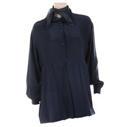 Liza Minnelli navy ensemble by Isaac Mizrahi.