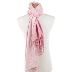 Liza Minnelli collection of (10) pink and red scarves.