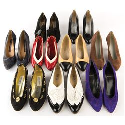 Liza Minnelli personal (26) pairs of shoes.
