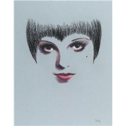 Liza Minnelli fan art pastel drawing.
