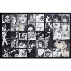 Liza Minnelli (2) fan art portraits.