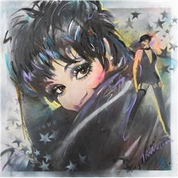 Liza Minnelli portrait painting by Tarantola.