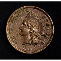 1860 CN INDIAN HEAD CENT