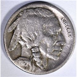 1921-S BUFFALO NICKEL, VG scratch on rev