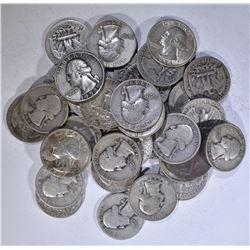 $10 FACE VALUE 90% SILVER QTRS