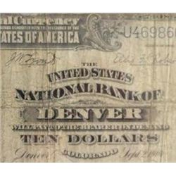 1902 $10 National Currency