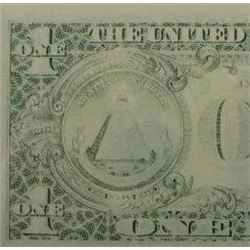 1988 A $1 Federal Reserve Note