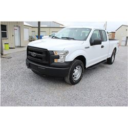 2016 FORD F150 Pickup Truck; VIN/SN:1FTFX1EF8GFB37638 -:- 4x4, ext. cab, V8 gas, A/T, 64,603 miles