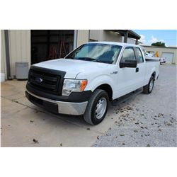2014 FORD F150 Pickup Truck; VIN/SN:1FTEX1CM1EFA85344 -:- ext. cab, V6 gas, A/T, AC, 56,544 miles