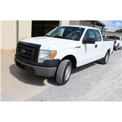 2012 FORD F150 Pickup Truck; VIN/SN:1FTEX1CM2CFB27095 -:- ext. cab, V6 gas, A/T, AC, 54,999 miles