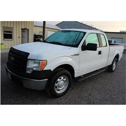 2012 FORD F150 Pickup Truck; VIN/SN:1FTEX1CM9CFB96477 -:- ext. cab, V6 gas, A/T, AC, 54,629 miles