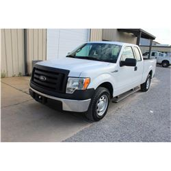 2012 FORD F150 Pickup Truck; VIN/SN:1FTEX1CMXCFB96486 -:- ext. cab, V6 gas, A/T, AC, 73,120 miles